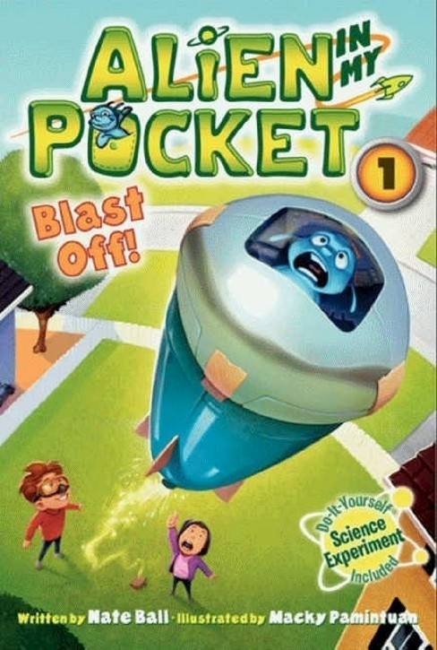 Blast Off! ( Alien in My Pocket) (Paperback) - image 1 of 1