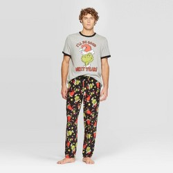 Men's The Grinch Pajama Set