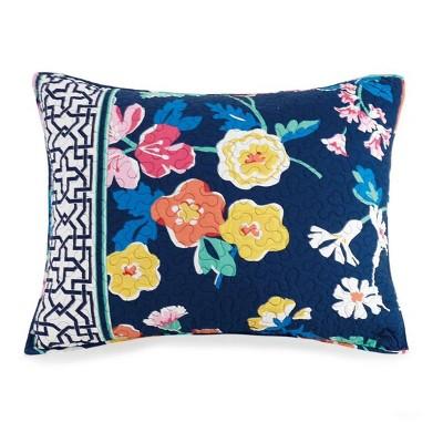 Maybe Navy Pillow Sham - Vera Bradley