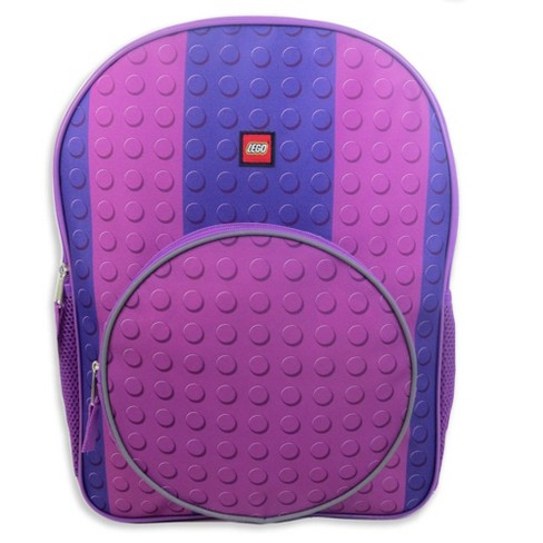 "LEGO Classic 16"" Kids' Backpack - Purple - image 1 of 3"