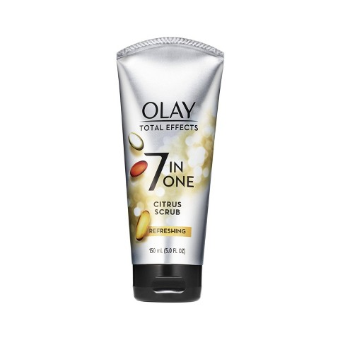 Olay Total Effects Refreshing Citrus Scrub Face Cleanser 5.0 oz - image 1 of 4