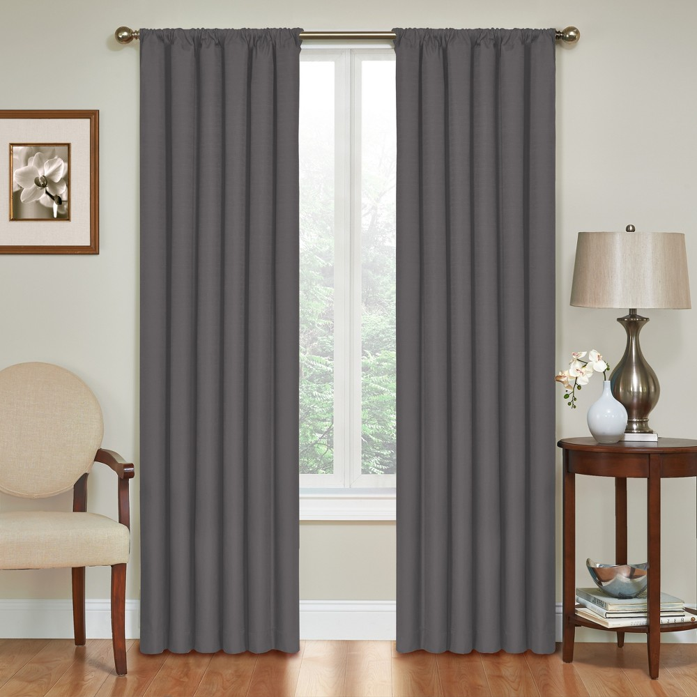 Image of 42x63 - Kendall Thermaback Blackout Charcoal (Grey) - Eclipse