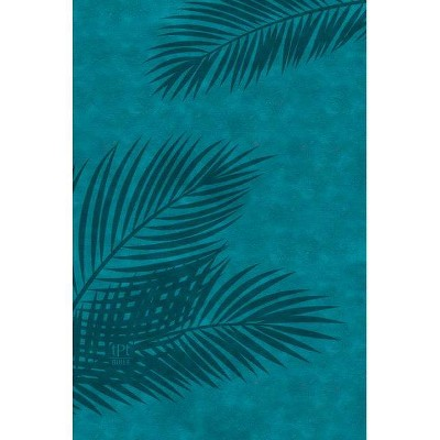 The Passion Translation New Testament (2020 Edition) Large Print Teal - by  Brian Simmons (Leather Bound)