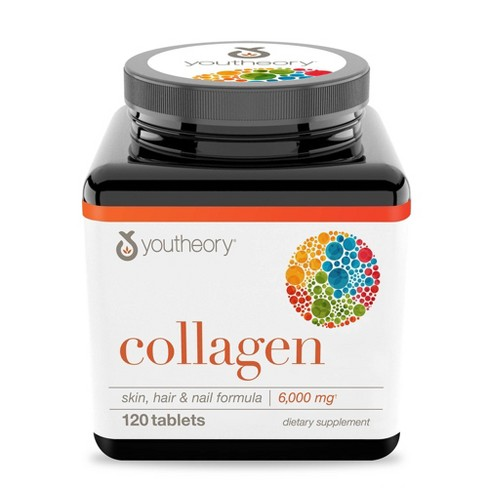 Youtheory Collagen Tablet - 120ct - image 1 of 4