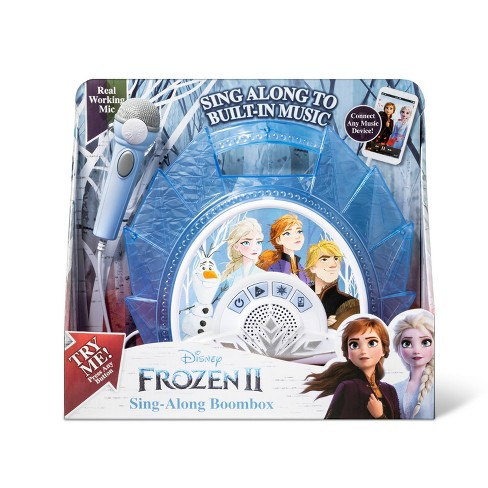 Disney Frozen 2 Sing-Along Boombox - image 1 of 4