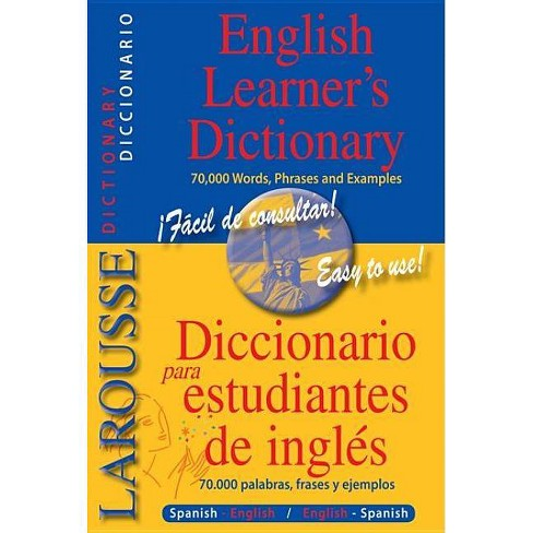 Larousse English Learner's Dictionary - (Paperback) - image 1 of 1