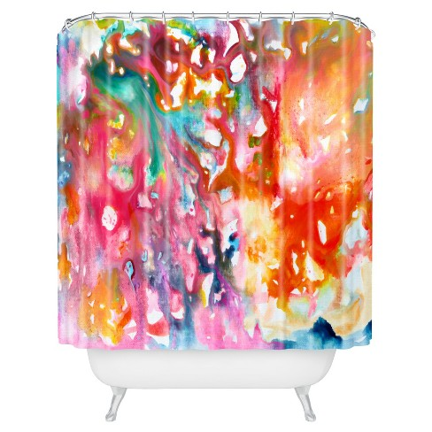 Stephanie Corfee Fast and Loose Shower Curtain Daring - Deny Designs - image 1 of 1