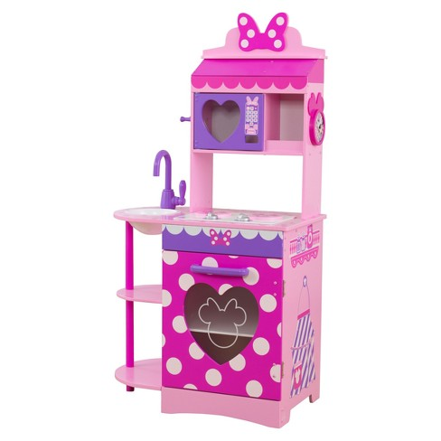 Kidkraft Disney Jr Minnie Mouse Toddler Kitchen Target