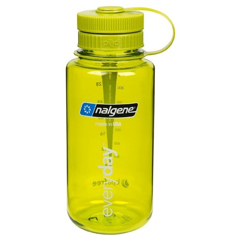 Nalgene® Retro 32oz Wide Mouth Water Bottle - Lime Green - image 1 of 1