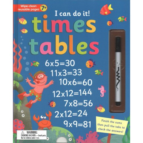 I Can Do It! Times Tables -  (I Can Do It!) (Hardcover) - image 1 of 1