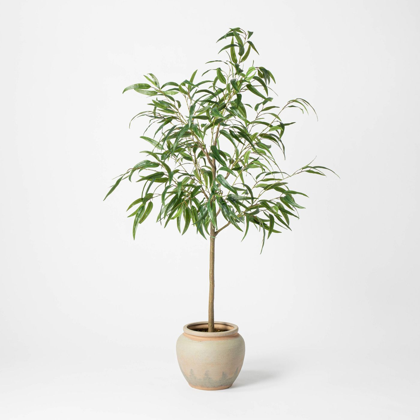 "73"" Artificial Weeping Eucalyptus Tree in Pot - Threshold™ - image 1 of 10"