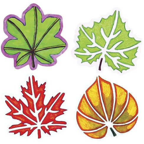 Roylco Perfect Leaf Stencil Set, 8 x 8 Inches, set of 12 - image 1 of 1