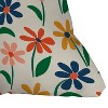Zoe Wodarz Floral Square Throw Pillow Green/Blue - Deny Designs - image 2 of 2