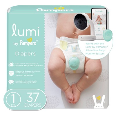Lumi by Pampers Diapers Mega Pack - Size 1 - 37ct