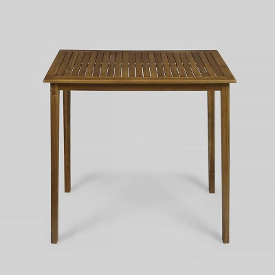 Polaris Acacia Wood Rectangle Bar Table - Christopher Knight Home