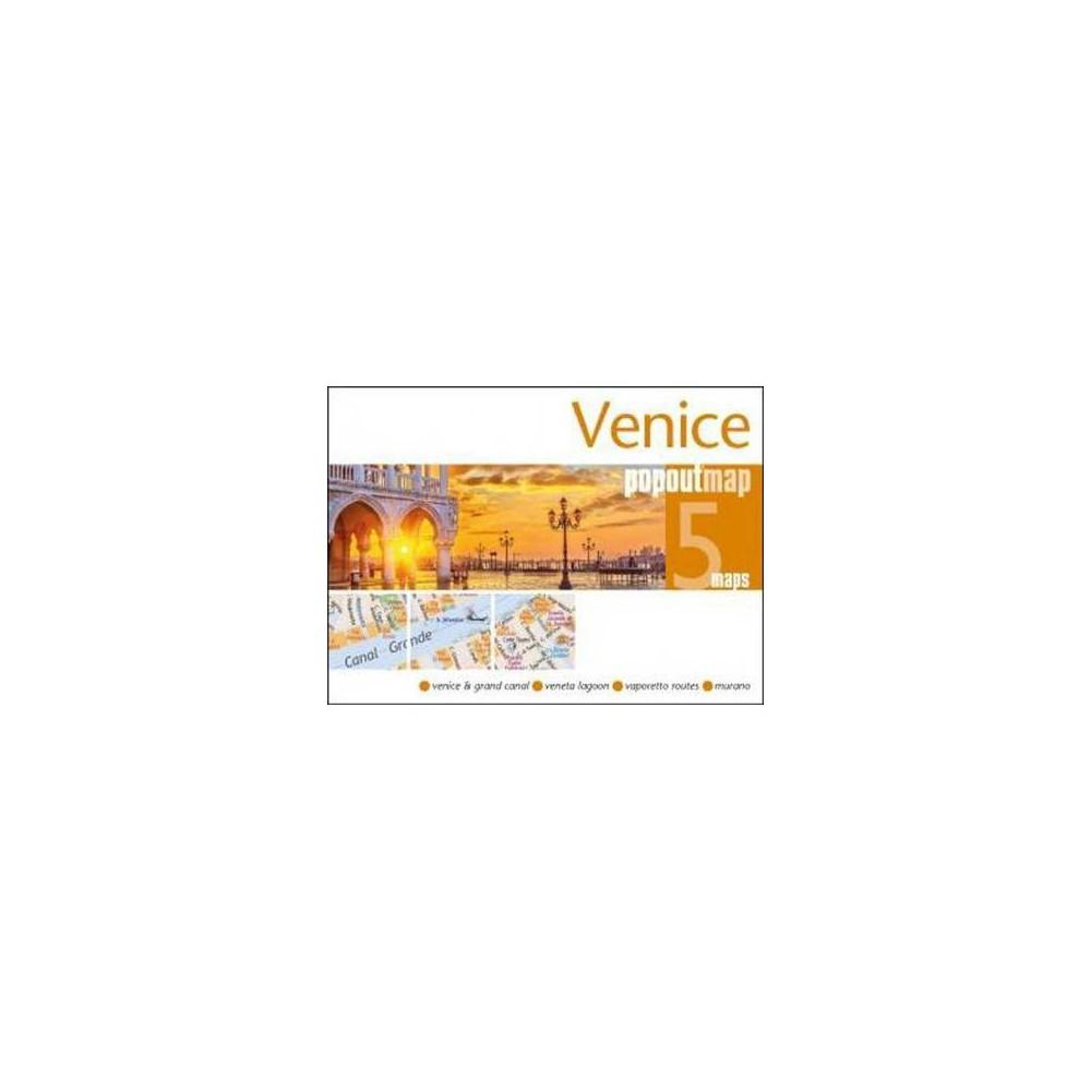Popout Map Venice - (Popout Maps) (Paperback)