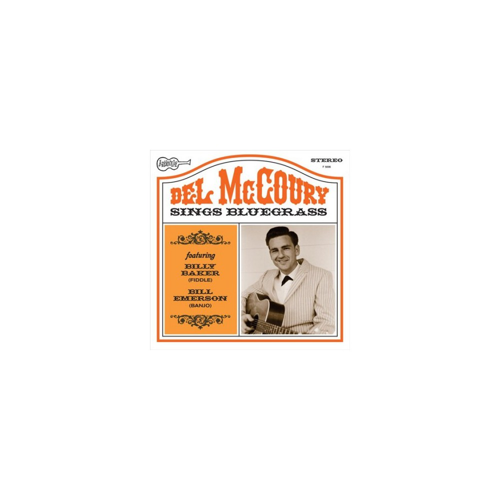 Del Mccoury - Del Mccoury Sings Bluegrass (Vinyl)