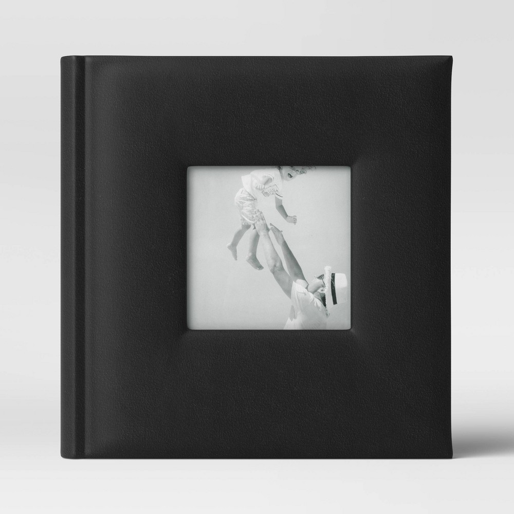 "Image of ""4"""" x 6"""" Photo Album Black 2 Per Page - Threshold"""