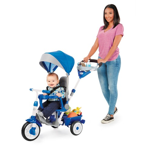 Little Tikes Perfect Fit 4-in-1 Trike - Blue - image 1 of 4