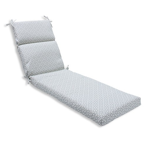 Pillow Perfect Outdoor One Piece Seat And Back Cushion - Gray - image 1 of 2