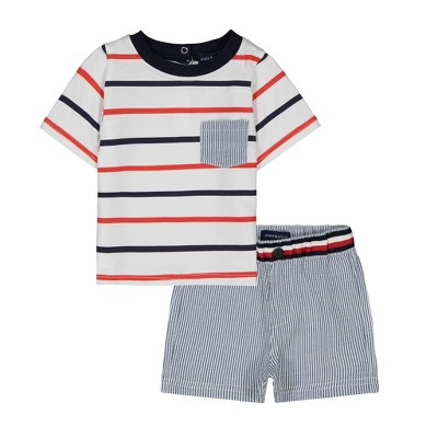 Andy & Evan  Infant Boys Tee Shirt Set