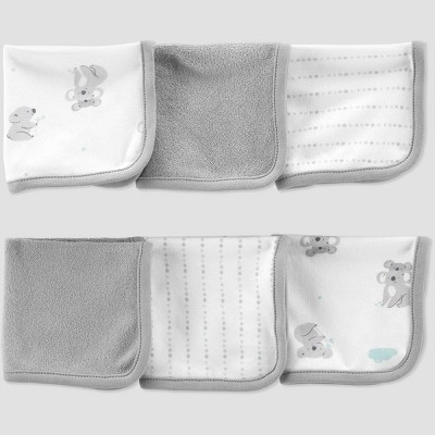 Baby Koala Washcloth Set - Just One You® made by carter's White/Gray