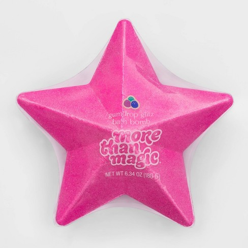 Star-Shaped Glitter Bath Bomb - 6.34oz - More Than Magic™ - image 1 of 3