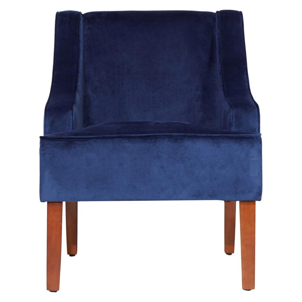 HomePop Swoop Arm Accent Chair - Ink Navy was $229.99 now $172.49 (25.0% off)