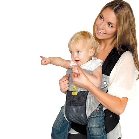 Lillebaby 6 Position Complete Airflow Baby Child Carrier Charcoal Silver