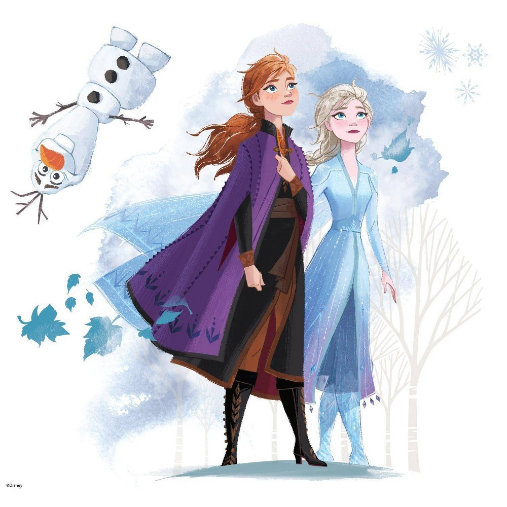 Image of Frozen 2 Peel & Stick Giant Wall Decal - Roommates