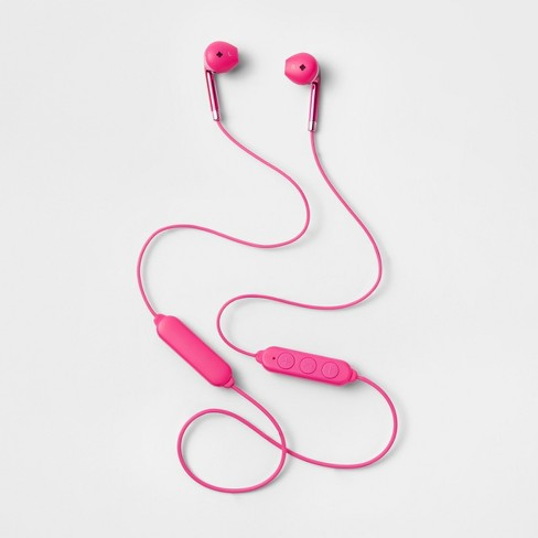 heyday™ Bluetooth Earbuds - Pizzazz Pink - image 1 of 1