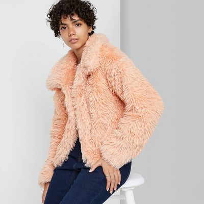 Women's Faux Fur Jacket - Wild Fable™