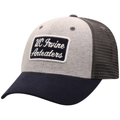 NCAA UC Irvine Anteaters Men's Gray Cotton with Mesh Snapback Hat