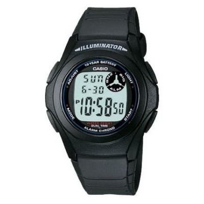 Men's Casio Digital Resin Watch - Black