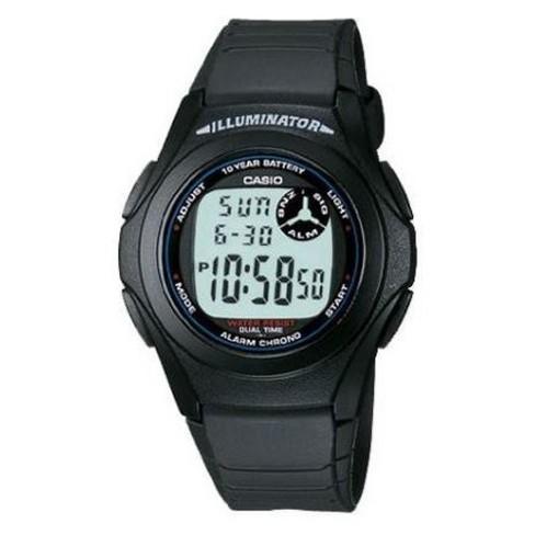 Men's Casio Digital Resin Watch - Black - image 1 of 1