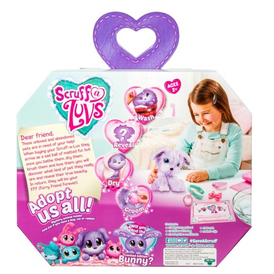 Little Live Pets Scruff-A-Luv - Lilac image number null