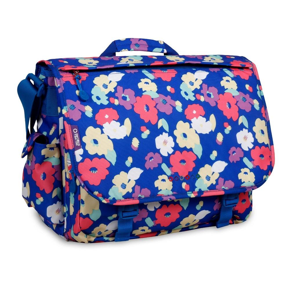 J World Thomas Laptop Messenger Bag Petals