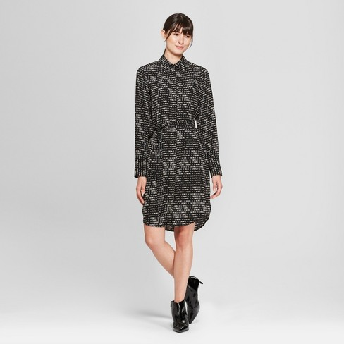 Women's Long Sleeve Collared Shirtdress - Prologue™ - image 1 of 3