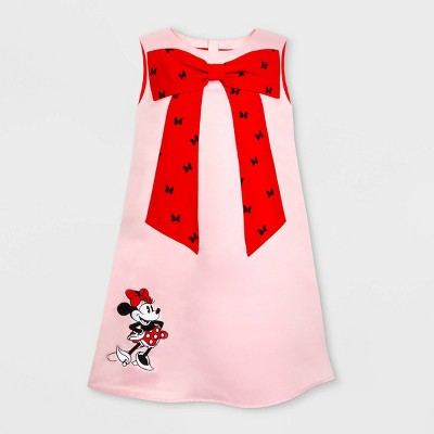 Girls' Disney Minnie Mouse Dress - Pink 4 - Disney Store