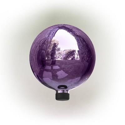 "Alpine 12"" Glass Gazing Globe Electric Purple"