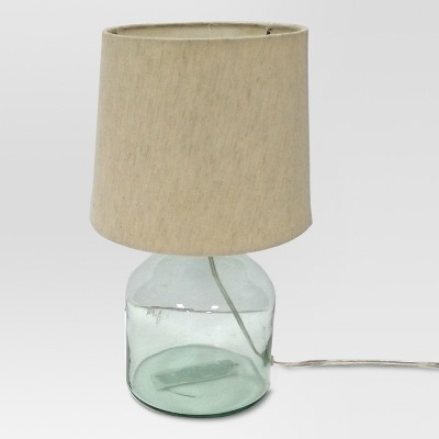 Design For Good Recycle Glass Accent Lamp (Includes CFL Bulb)- Cream - Project 62™