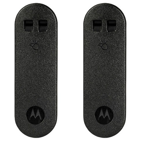 Motorola PMLN7240AR Whistle Belt Clip Twin Pack to Carry Two-Way Radios - image 1 of 2