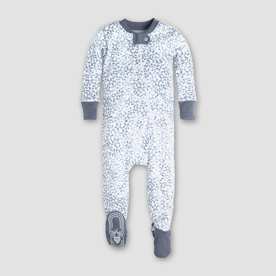 Burt's Bees Baby Boys' Organic Cotton Sherriff's Star Sleeper - Blue 3-6M