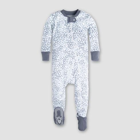 92350d87a Burt s Bees Baby Boys  Organic Cotton Sherriff s Star Sleeper - Blue 18M