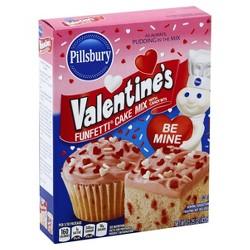 Pillsbury Valentine's Funfetti Cake Mix - 15.25oz