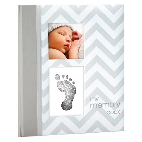 Pearhead Chevron Baby Memory Book - image 1 of 1