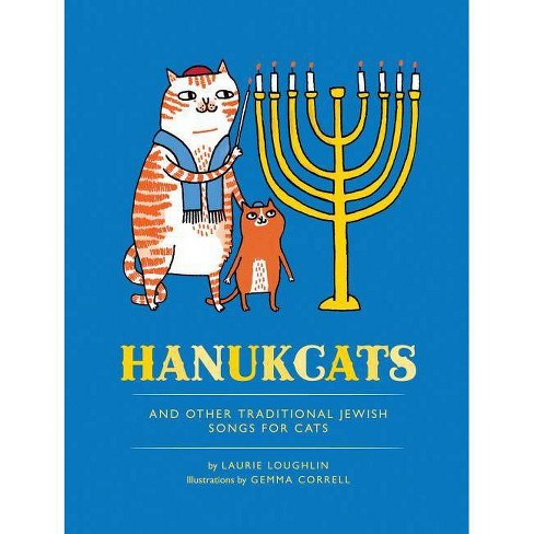 Hanukcats - by  Laurie Loughlin (Hardcover) - image 1 of 1