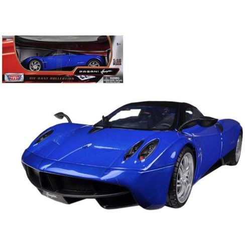 Pagani Huayra Blue 1/18 Diecast Car Model by Motormax - image 1 of 1