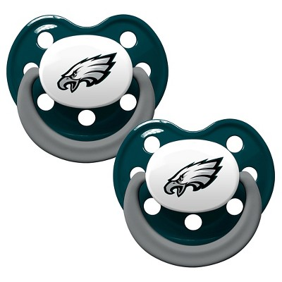 Philadelphia Eagles Baby Fanatic Pacifiers - 2 Pack