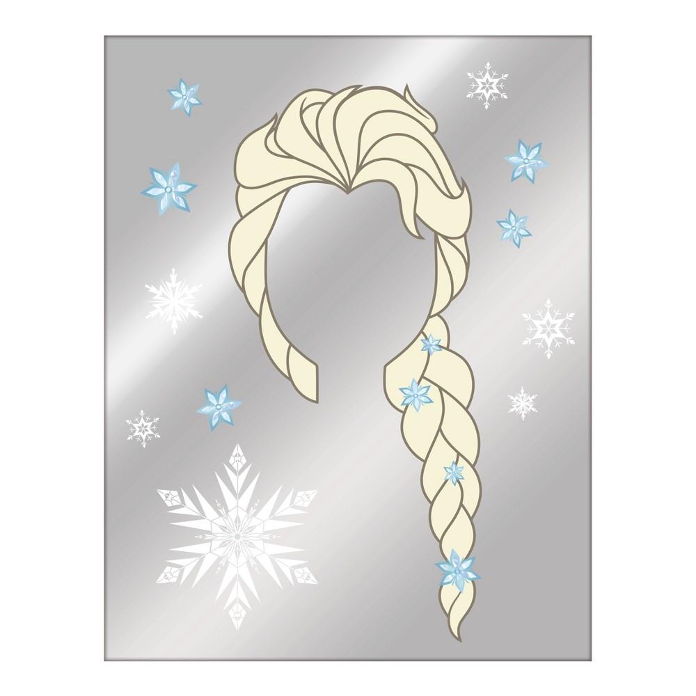 Image of Frozen 2 Elsa Graphic Mirror Wall Decor, White